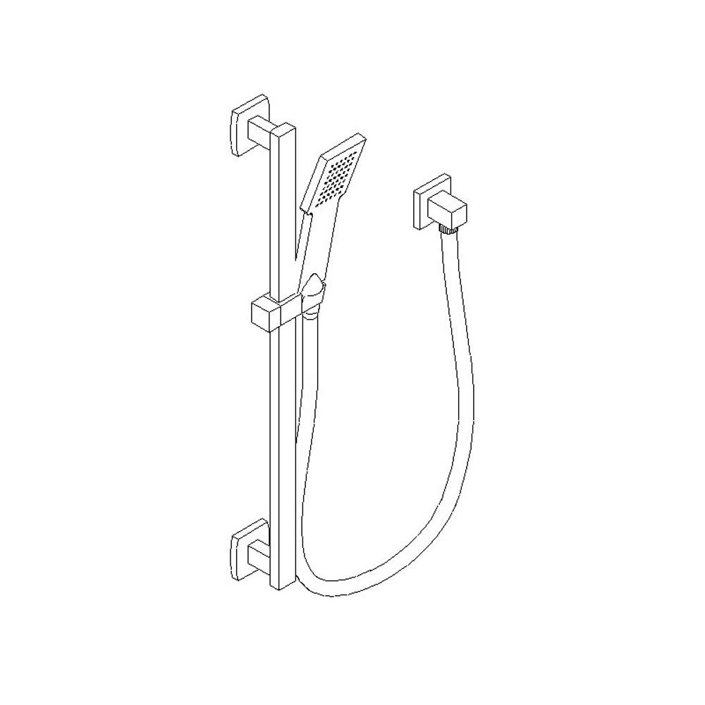 Artos Bar Mount Hand Showers item F703-5CH