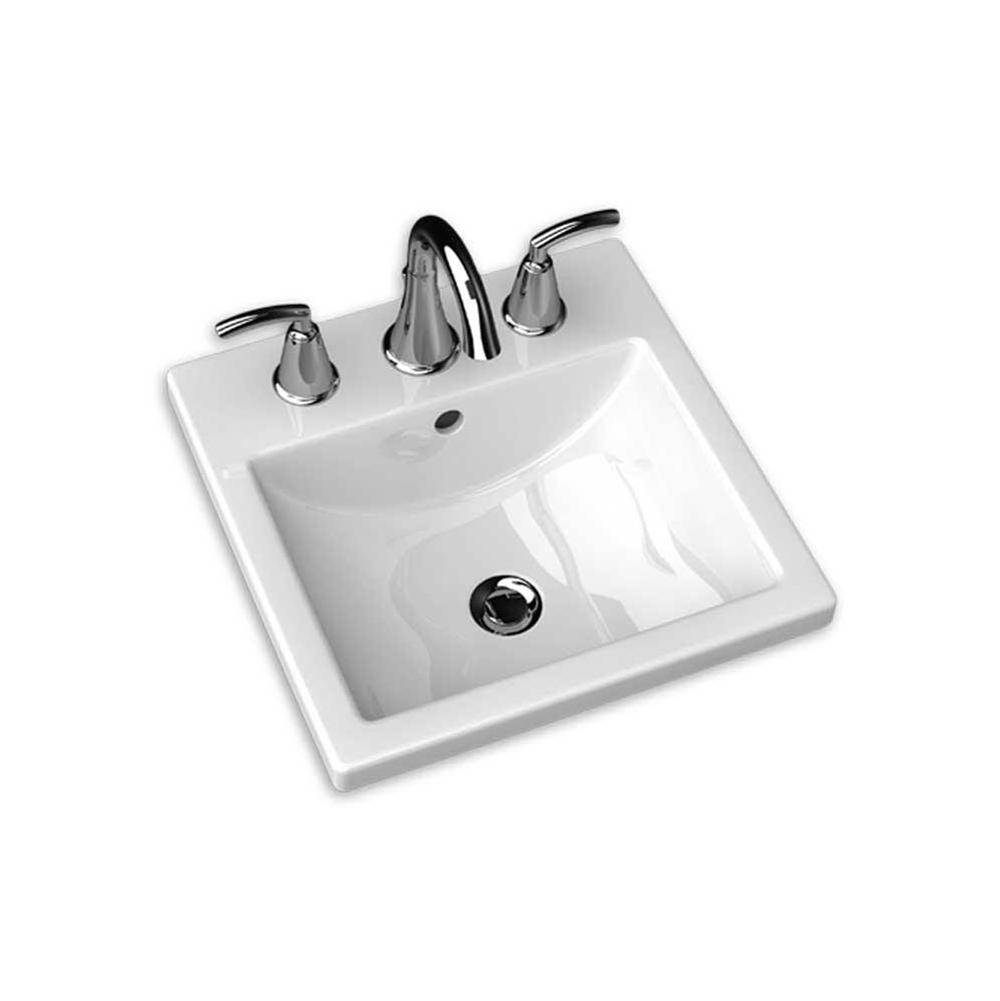American Standard Drop In Bathroom Sinks item 0642001.020