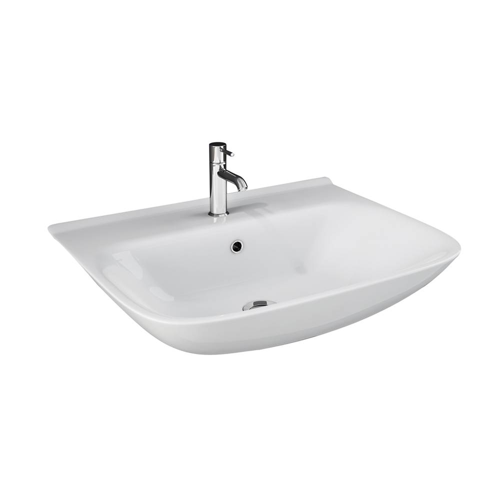 Barclay Wall Mounted Bathroom Sink Faucets item 4-1118WH