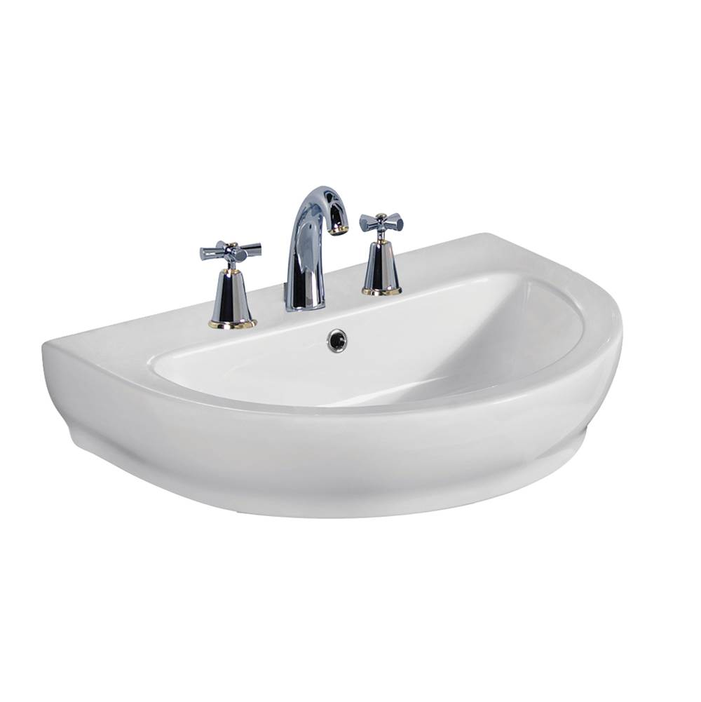 Barclay Wall Mounted Bathroom Sink Faucets item 4-2048WH
