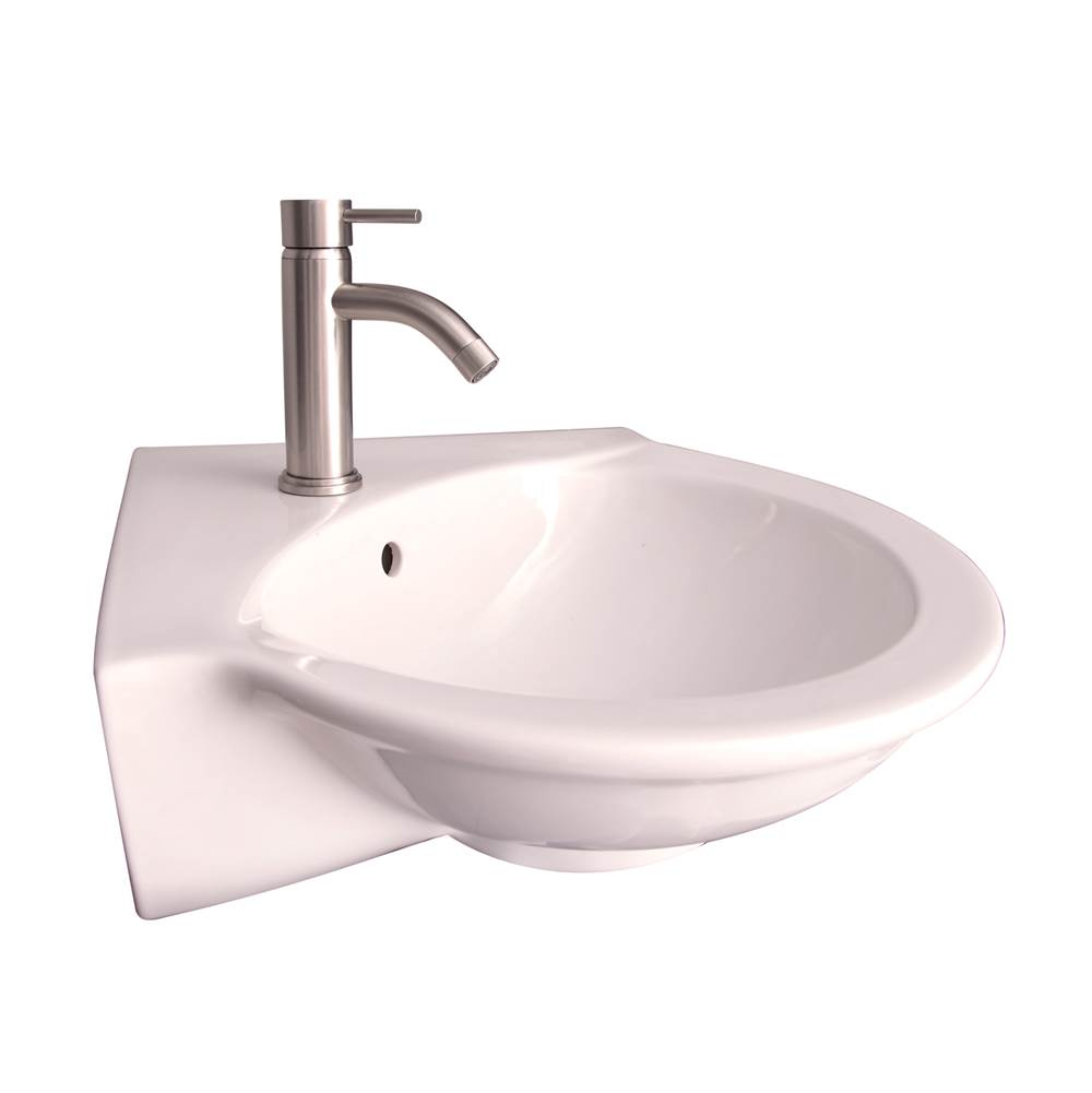 Barclay Wall Mounted Bathroom Sink Faucets item 4-231WH