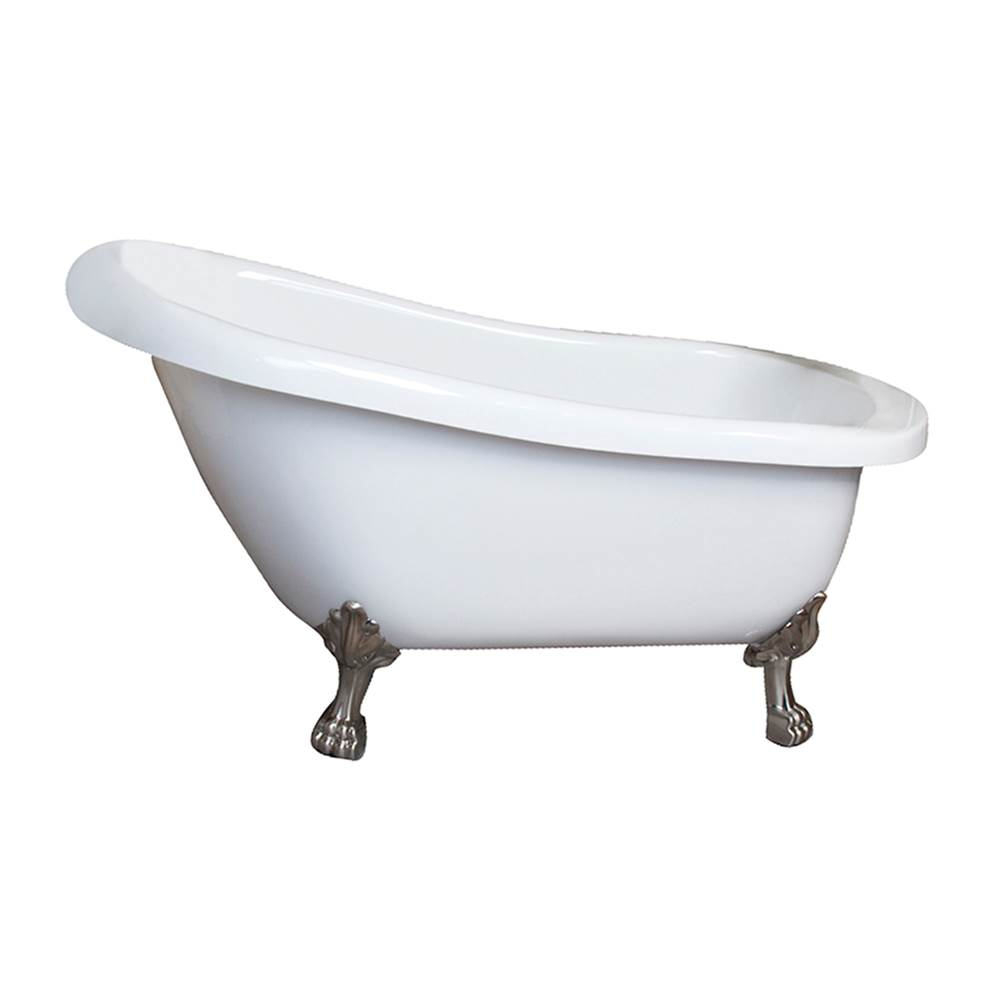 Barclay Clawfoot Soaking Tubs item AS7H67LP-WH-ORB