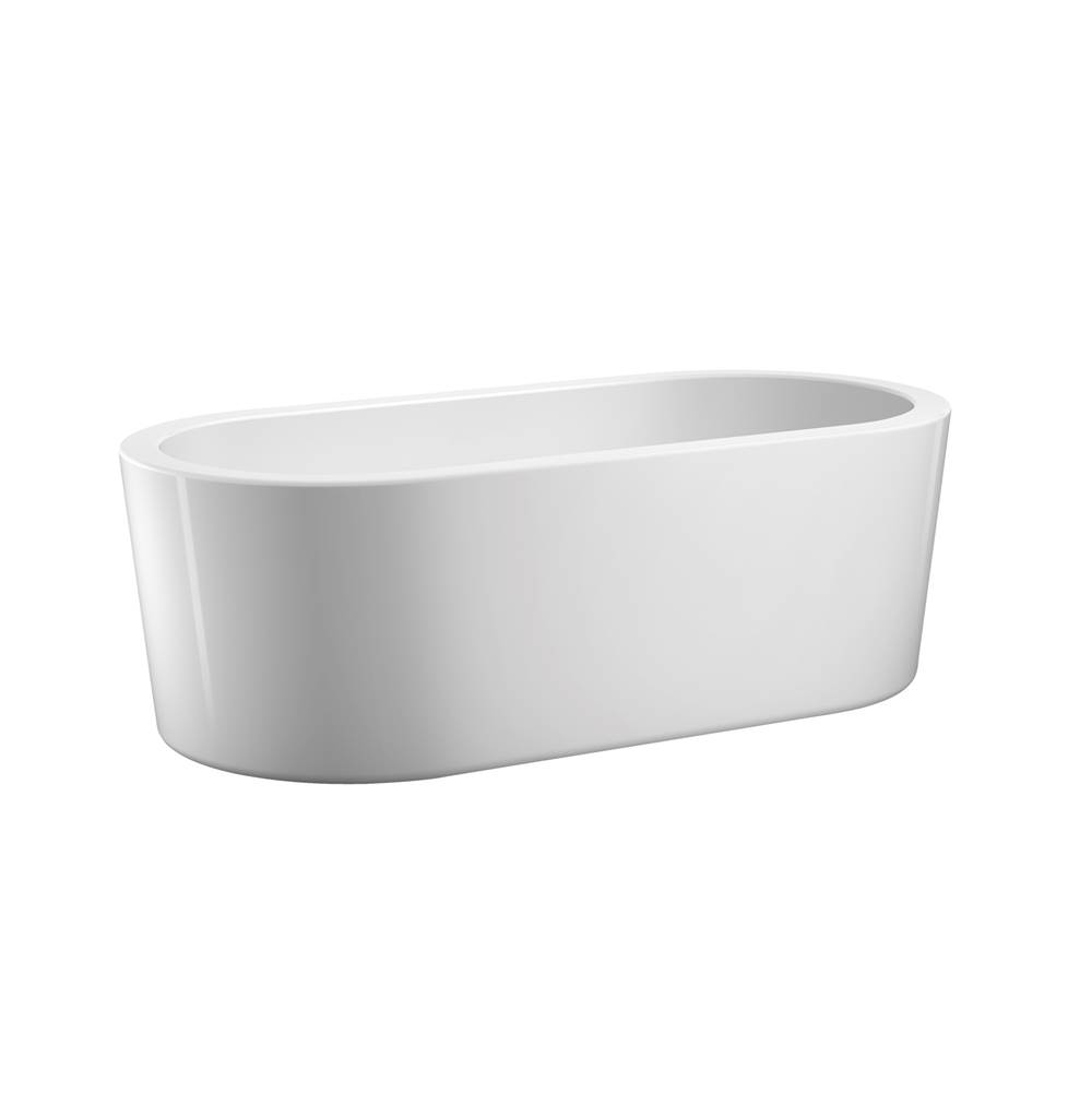 Barclay Free Standing Soaking Tubs item ATOVN55-WH
