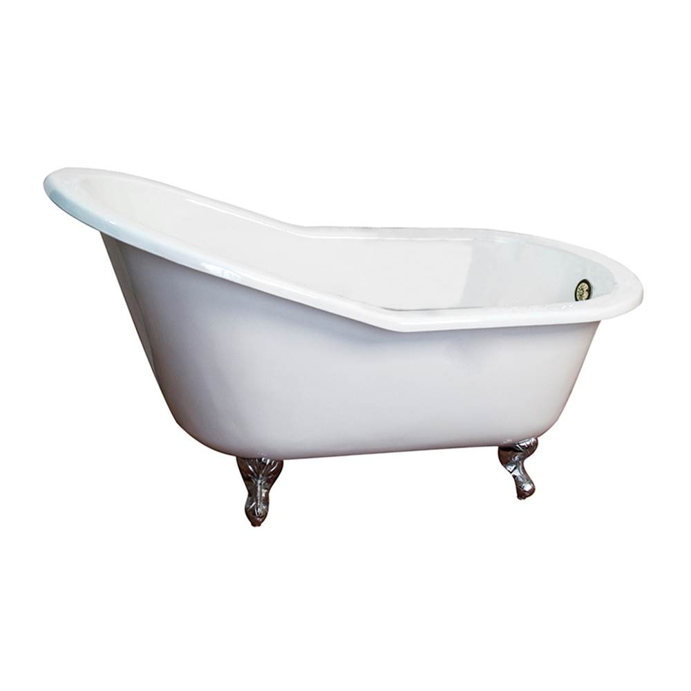 Barclay Clawfoot Soaking Tubs item CTSN63-WH-BN