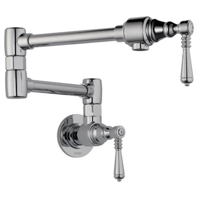Brizo Wall Mount Pot Filler Faucets item 62810LF-PC