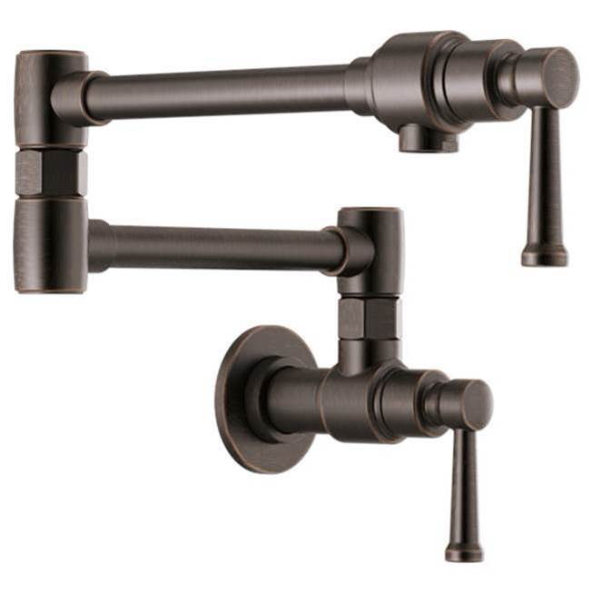 Brizo Wall Mount Pot Filler Faucets item 62825LF-RB
