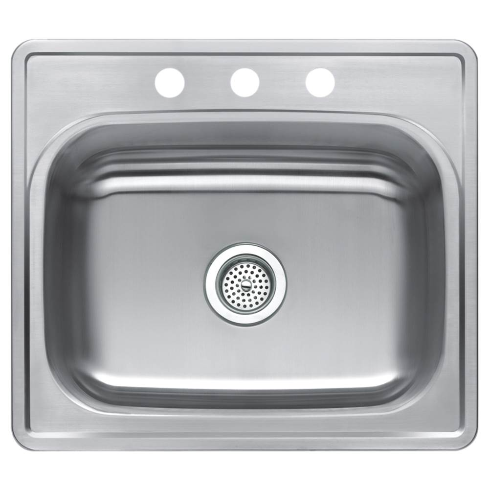 Compass Manufacturing Drop In Kitchen Sinks item 481-2967