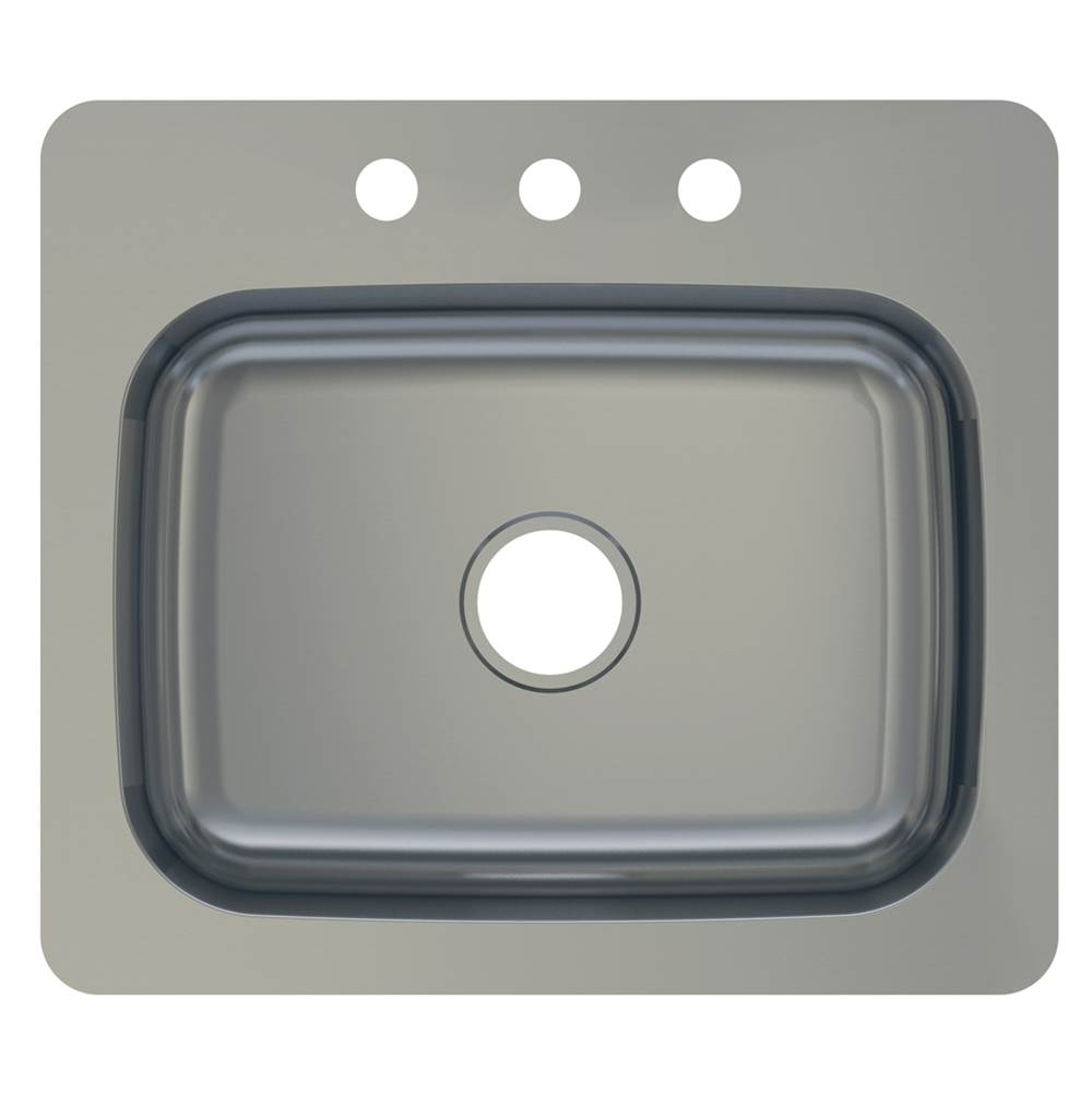 Compass Manufacturing Drop In Kitchen Sinks item 482-6289