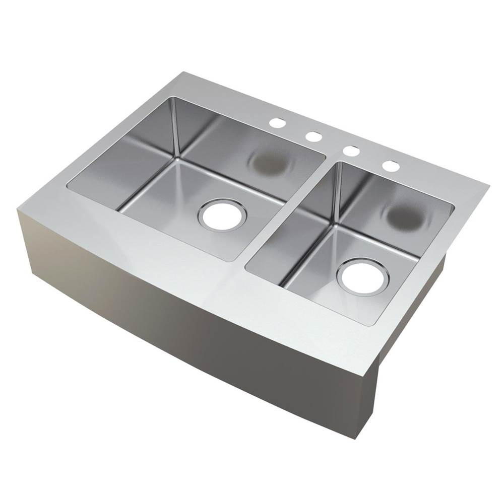 Compass Manufacturing Drop In Kitchen Sinks item 482-6518
