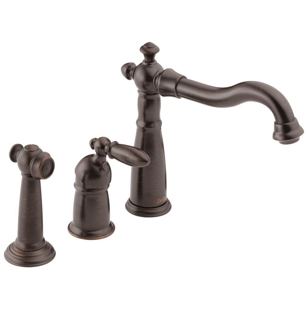 Delta Faucet Deck Mount Kitchen Faucets item 155-RB-DST