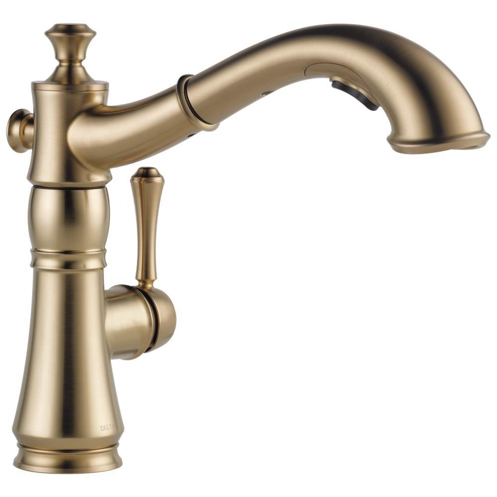 Delta Faucet Single Hole Kitchen Faucets item 4197-CZ-DST