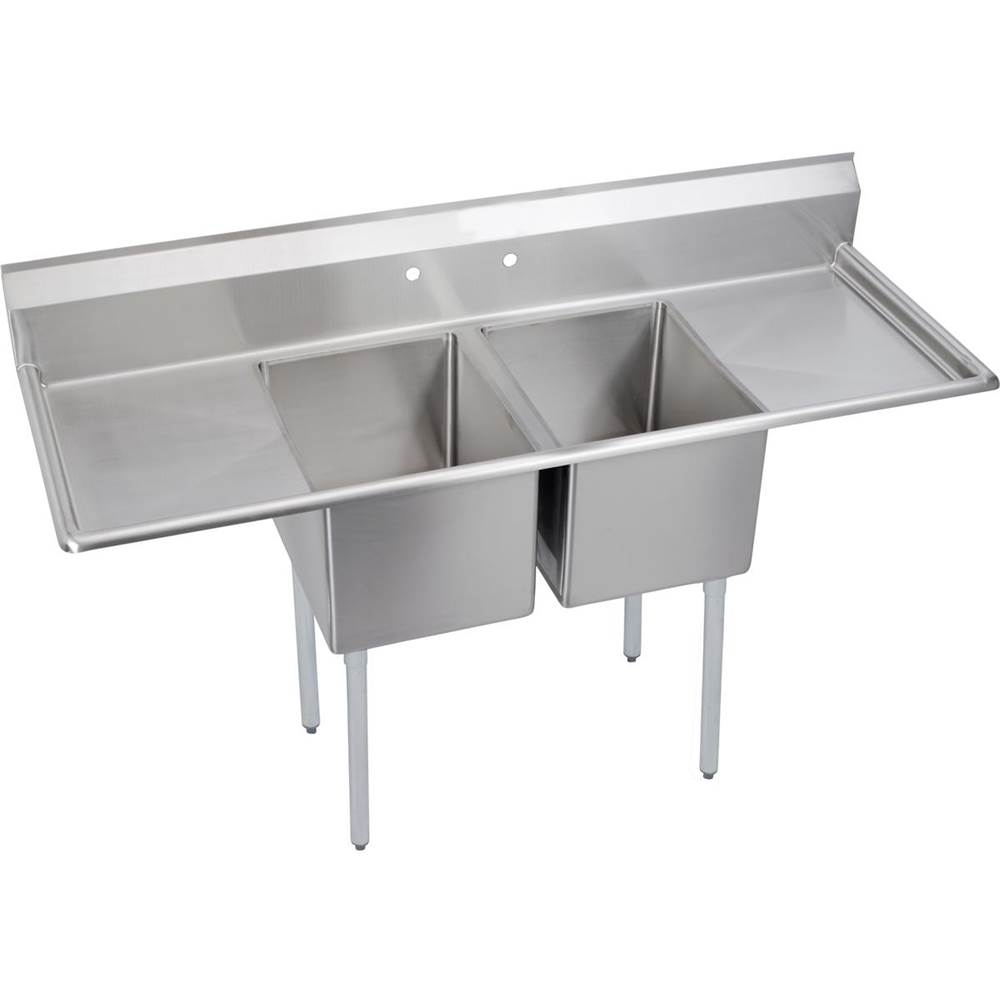Elkay  Kitchen Sinks item 2C18X24-2-18X