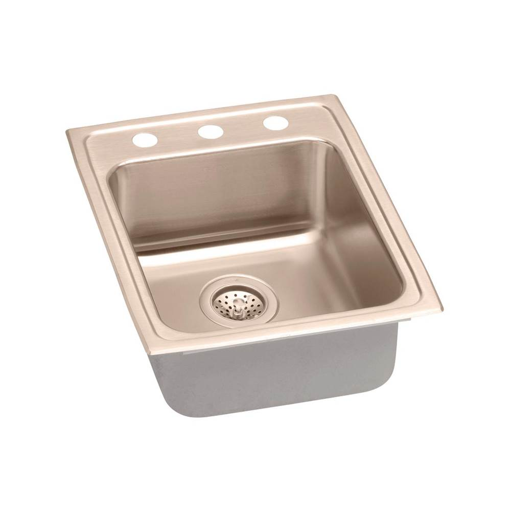 Elkay Drop In Kitchen Sinks item LRAD1722502-CU