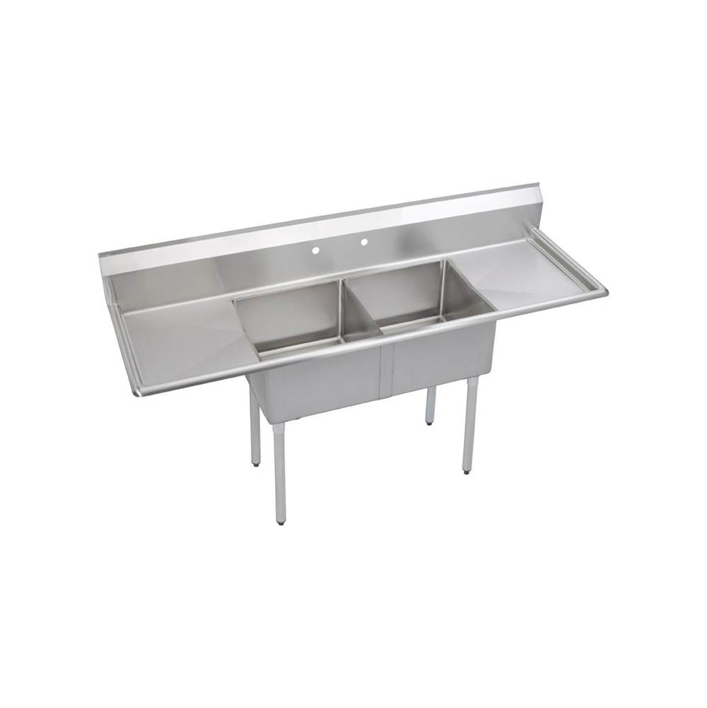 Elkay  Kitchen Sinks item 2C24X24-2-24X
