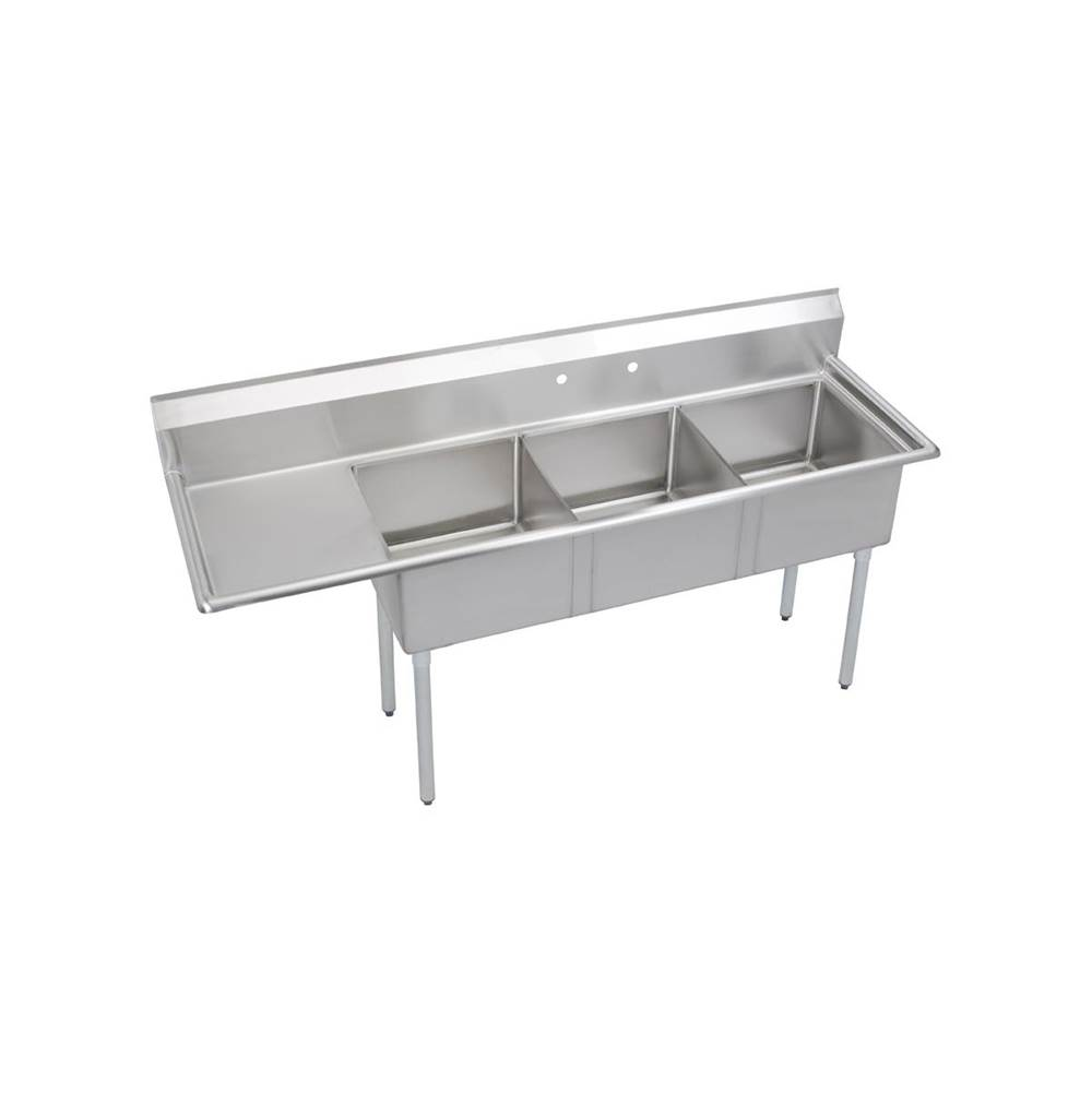 Elkay  Kitchen Sinks item E3C24X24-L-24X