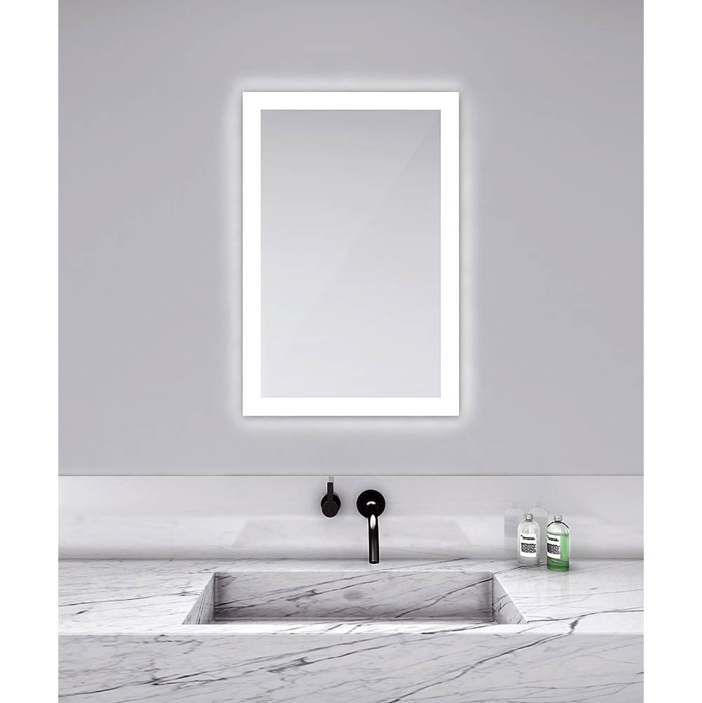 Electric Mirror Square Mirrors item SIL3030