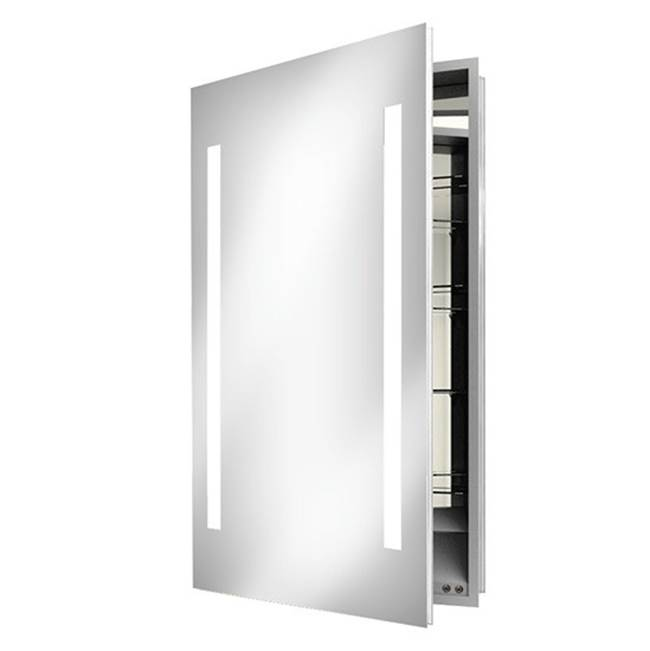 Electric Mirror  Medicine Cabinets item ASC-2330-KG-RT