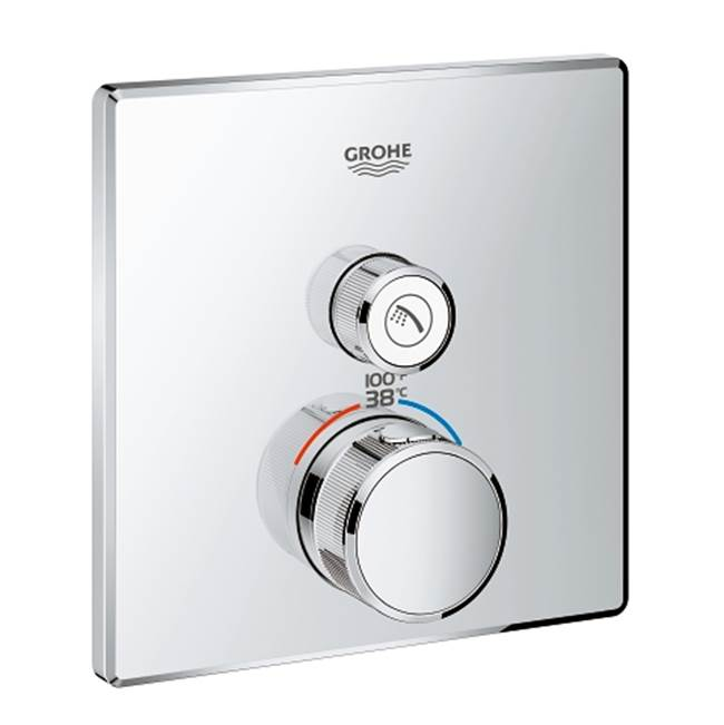 Grohe Thermostatic Valve Trims With Integrated Diverter Shower Faucet Trims item 29140000