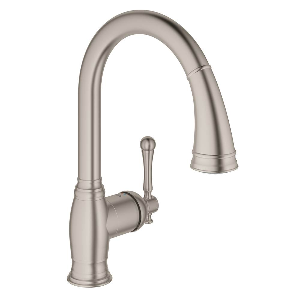 Grohe Retractable Faucets Kitchen Faucets item 33870DC2