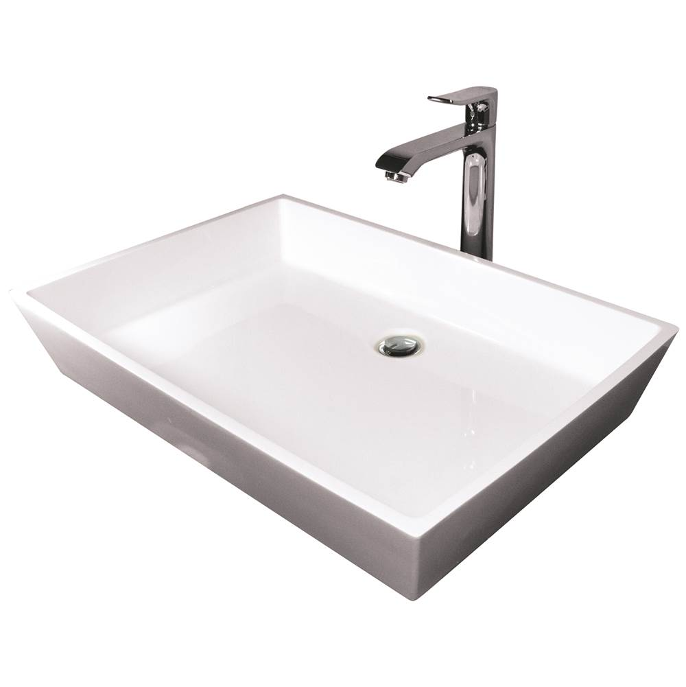 Hydrosystems Lavatory Console Bathroom Sinks item ELL2215SSS-ALM