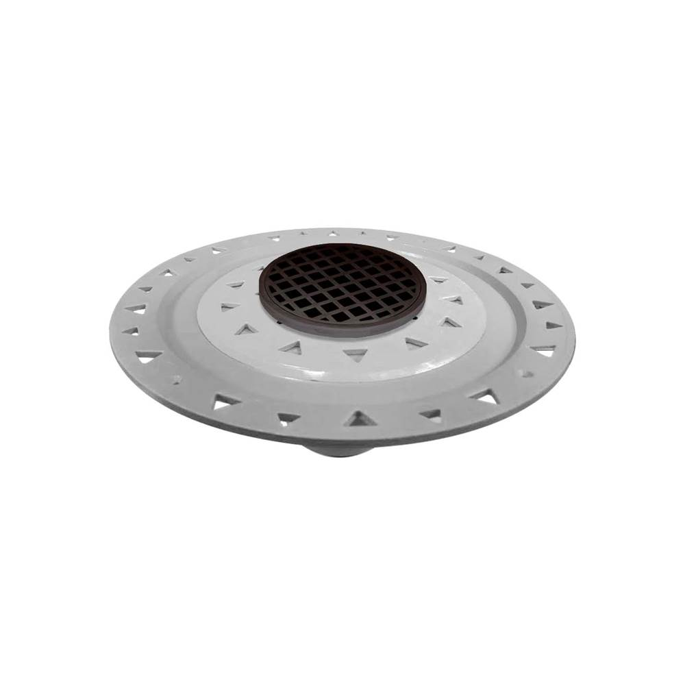 Infinity Drain Flanged Commercial Drainage item RQDB 5-P ORB
