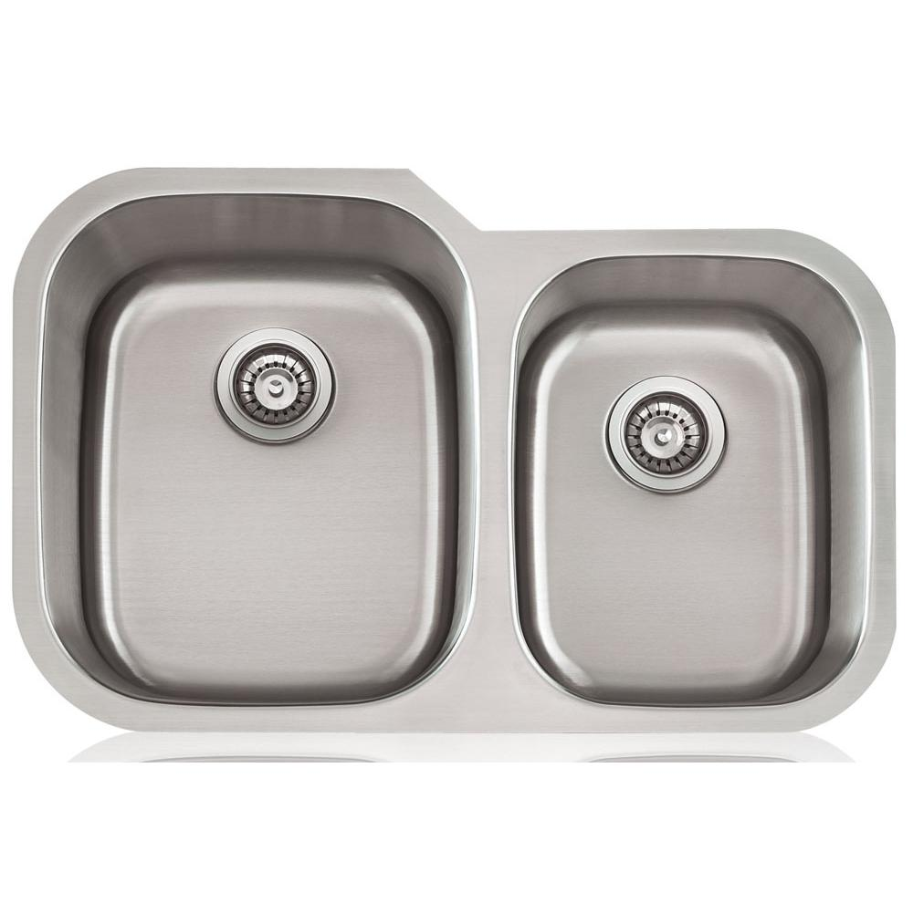 Lenova Undermount Kitchen Sinks item SS-CL-D2L-16