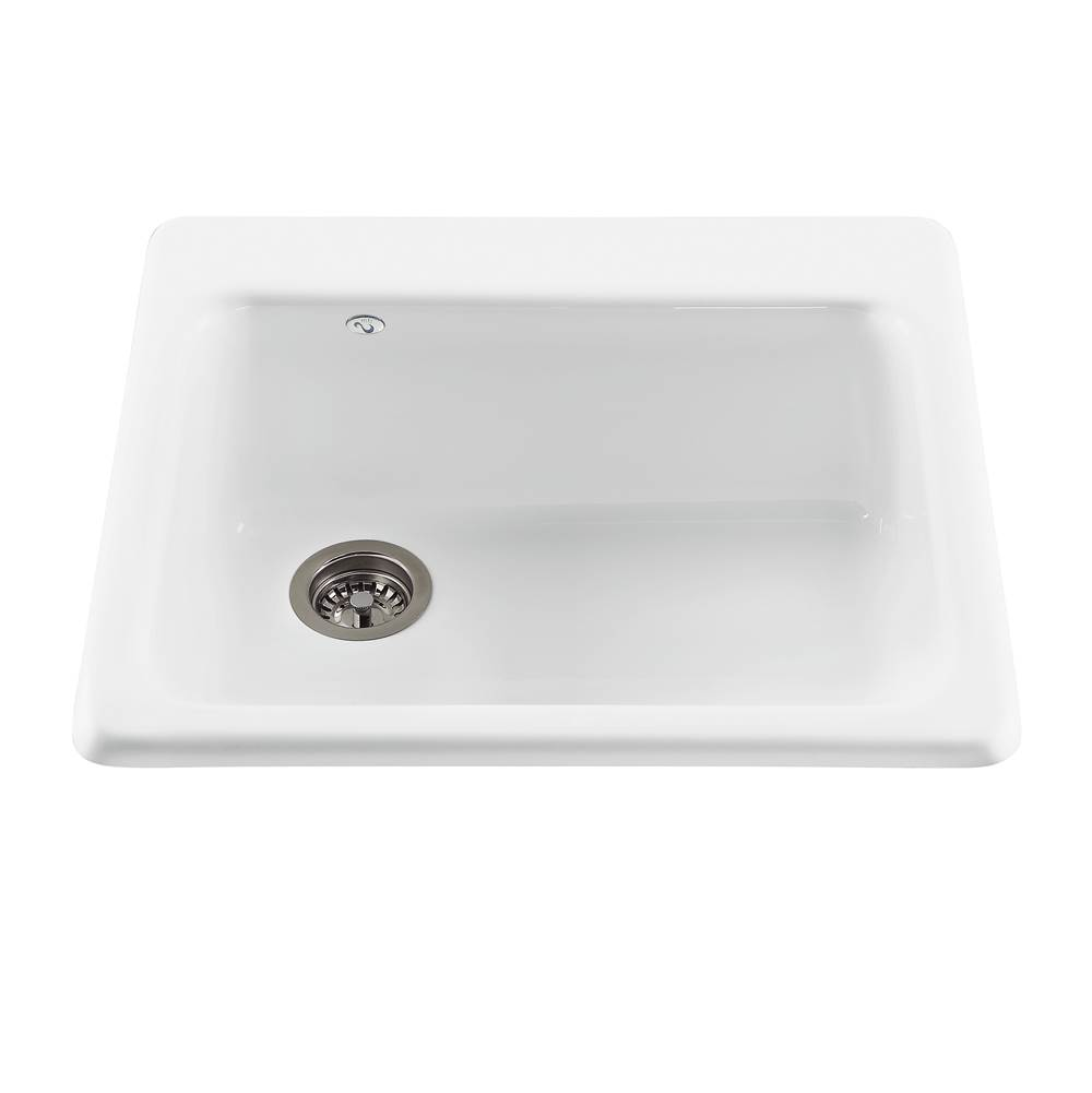 MTI Baths Drop In Kitchen Sinks item MBKS40-WH