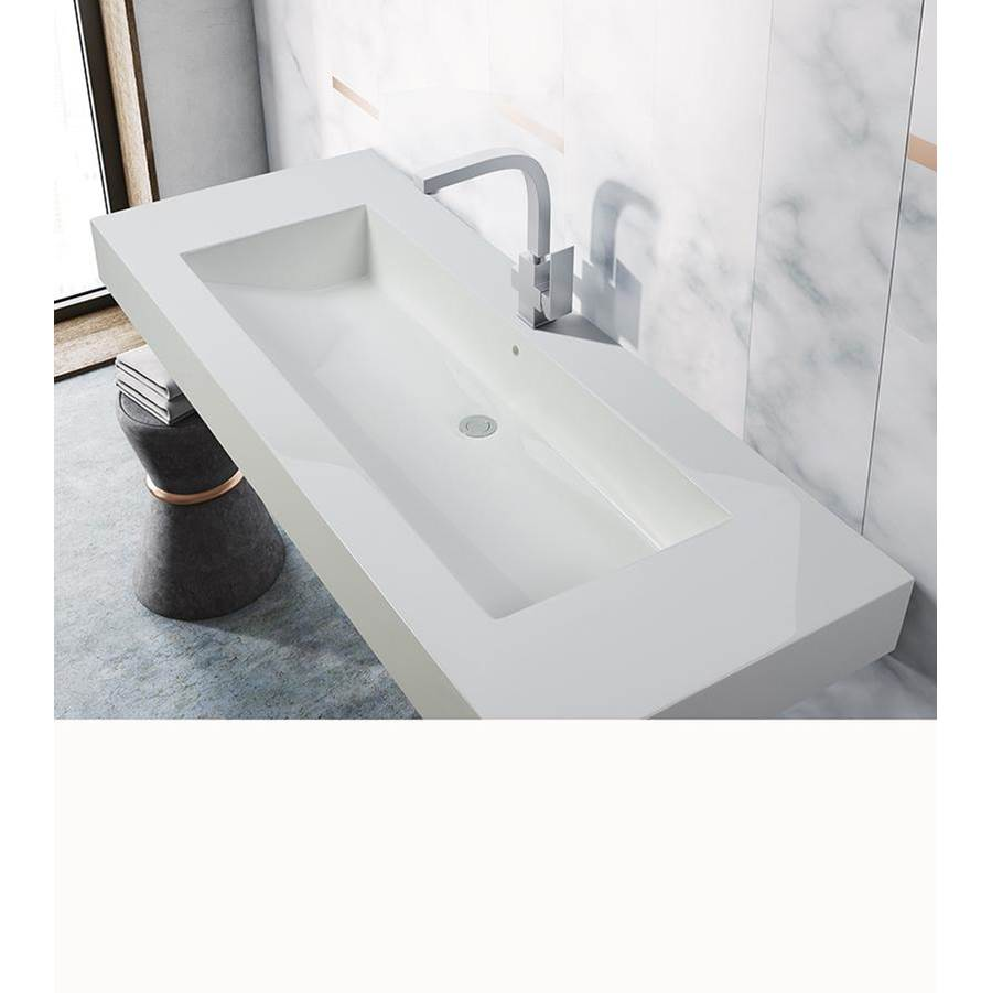 MTI Baths Wall Mount Bathroom Sinks item MTCS-767D-MT-BI