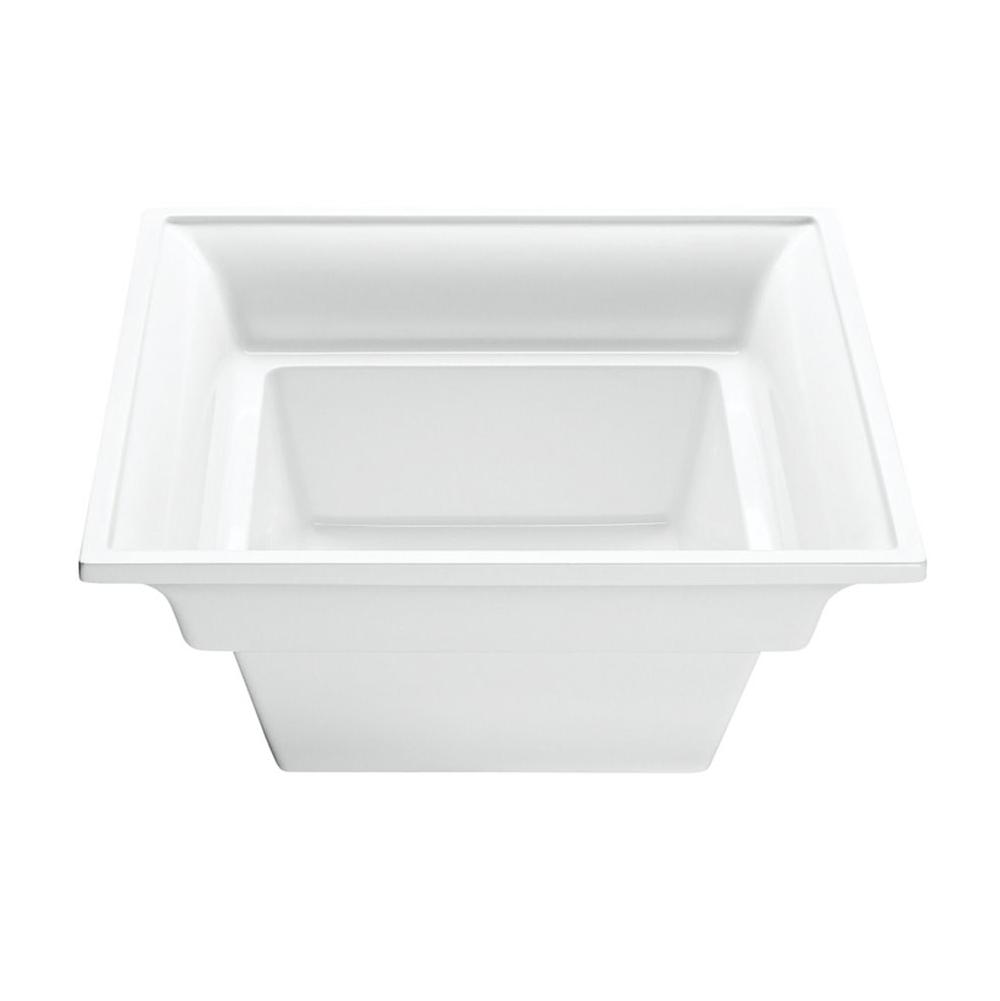 MTI Baths Vessel Bathroom Sinks item MTCS734-WH-MT