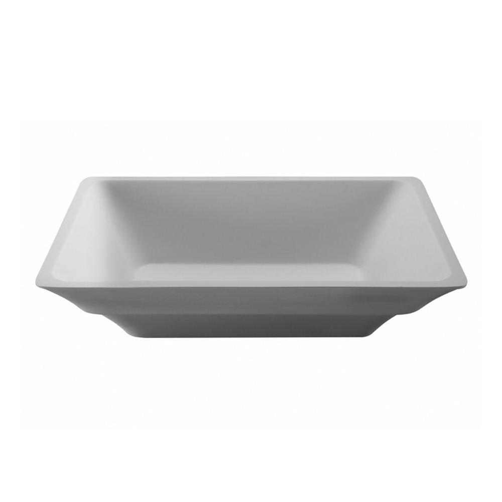 MTI Baths Vessel Bathroom Sinks item MTCS740-WH-MT