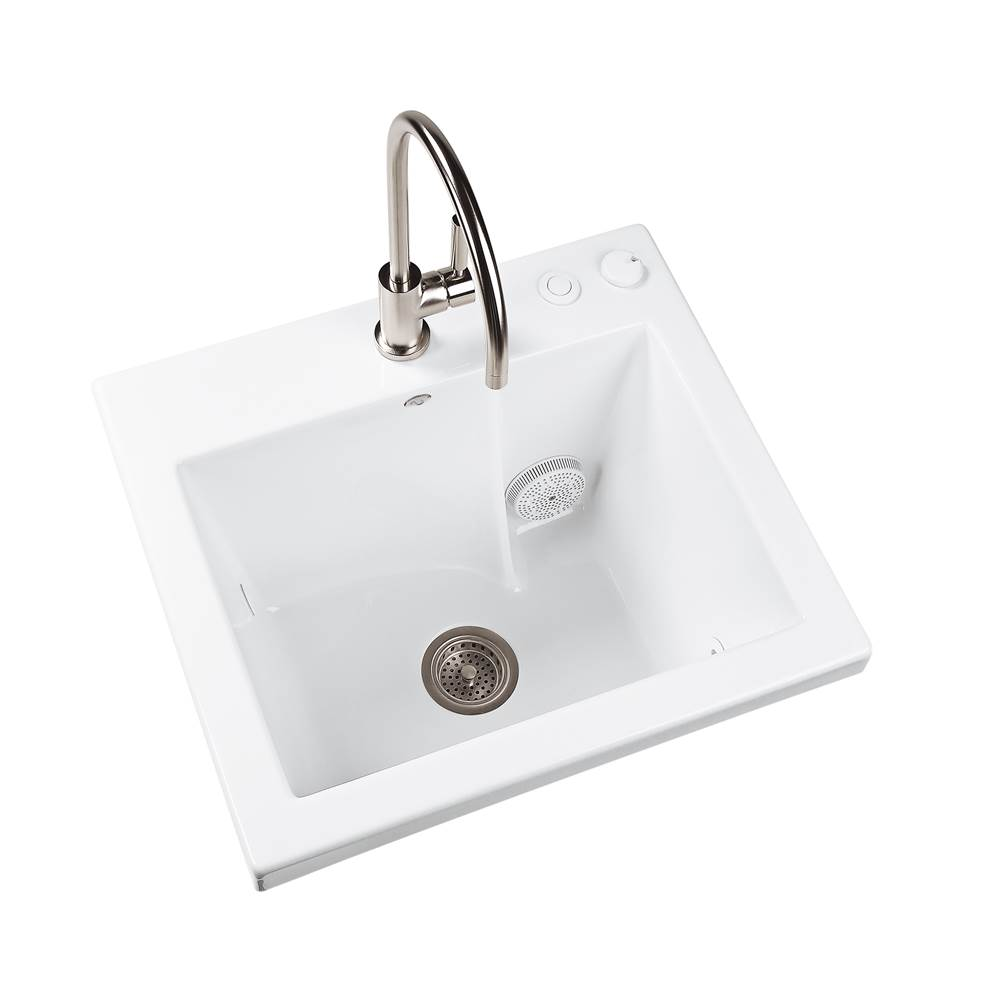 MTI Baths Drop In Laundry And Utility Sinks item MTLS120J-AL-DI