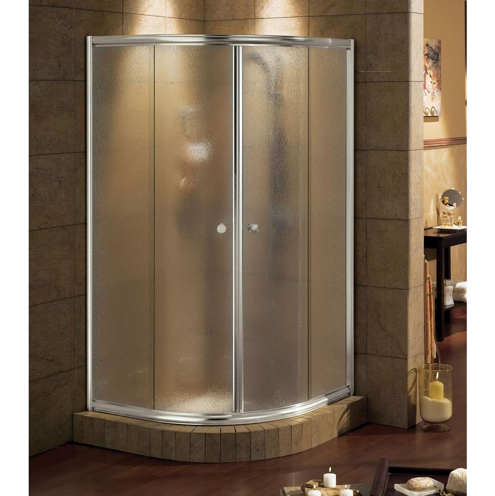 Shower door Maax Showers Shower Doors Talen Nickel Tones Brushed ...