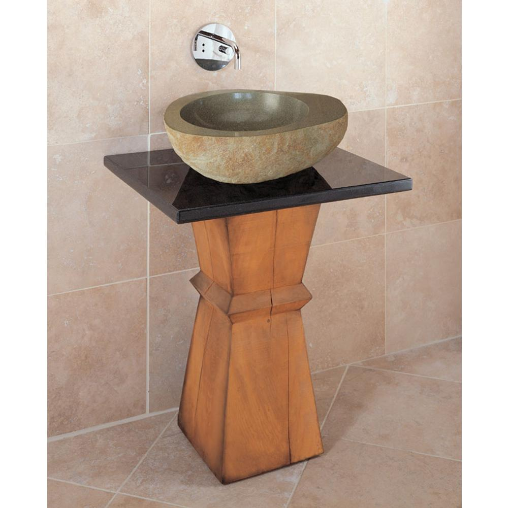 Stone Forest Complete Pedestal Bathroom Sinks item PW01