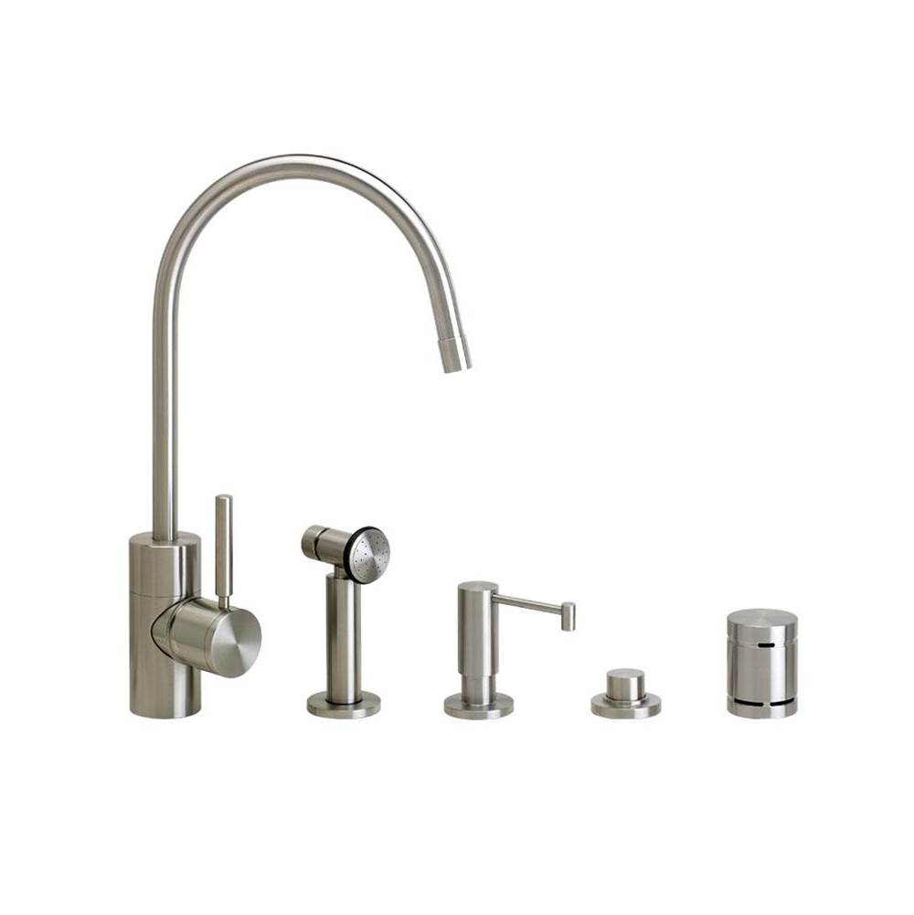 Waterstone Single Hole Kitchen Faucets item 3800-4-SC