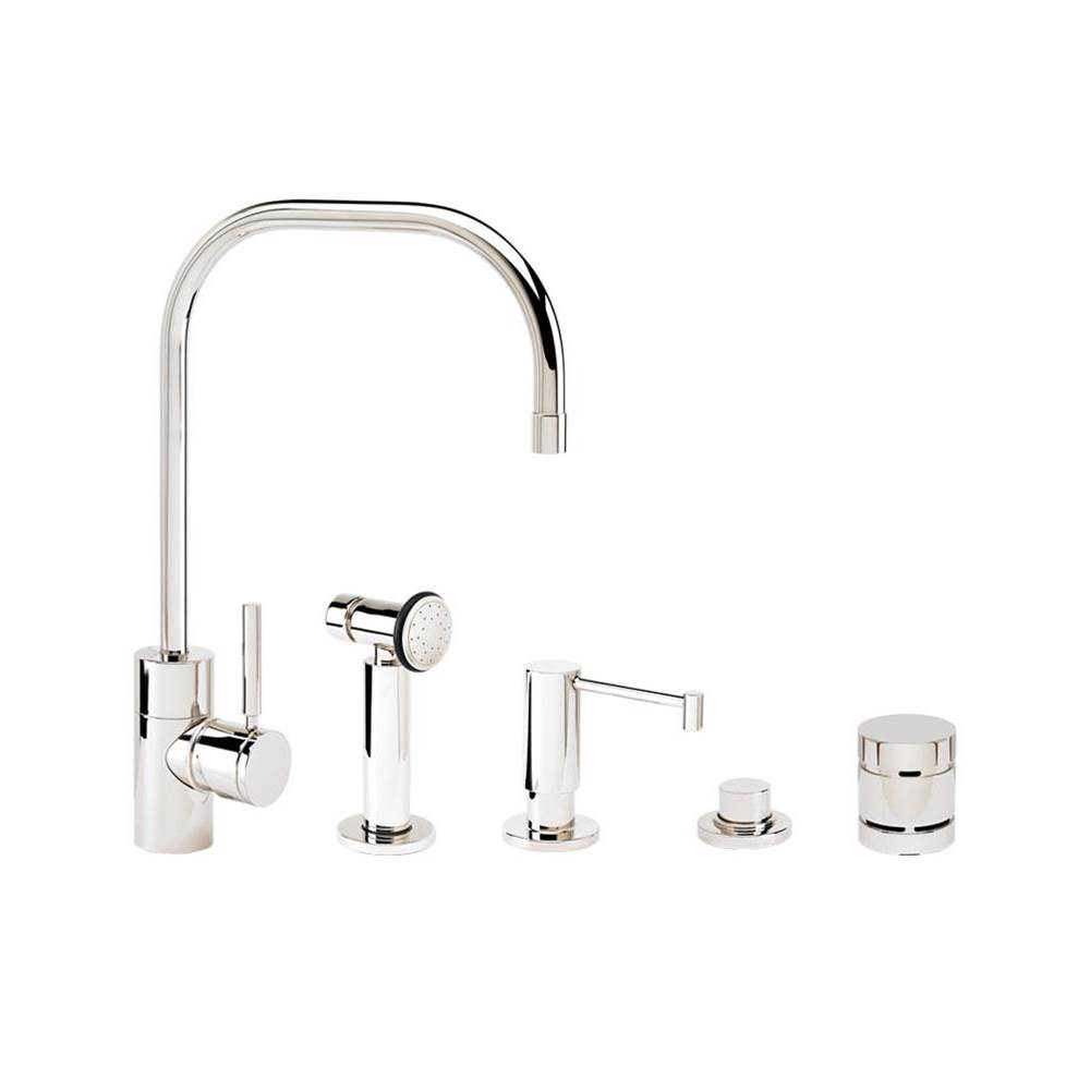 Waterstone Single Hole Kitchen Faucets item 3825-4-VB