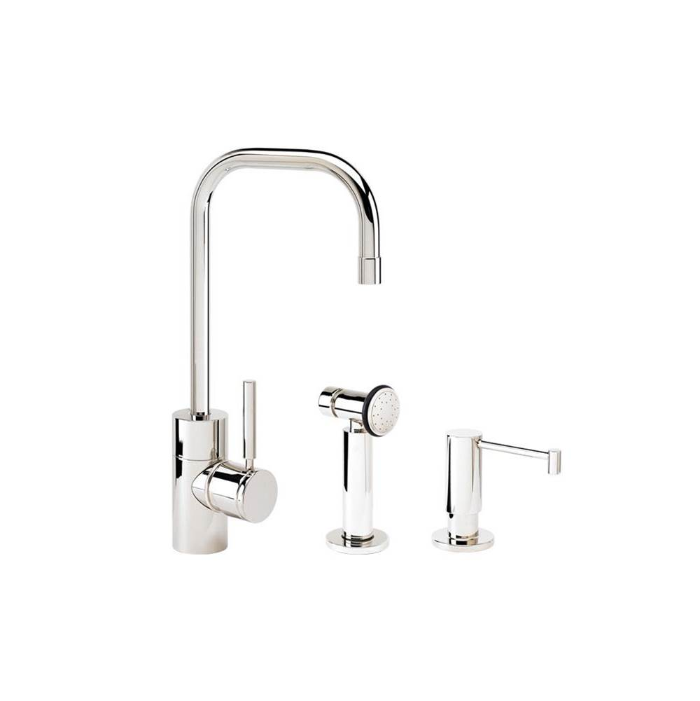 Waterstone Single Hole Kitchen Faucets item 3925-2-SS