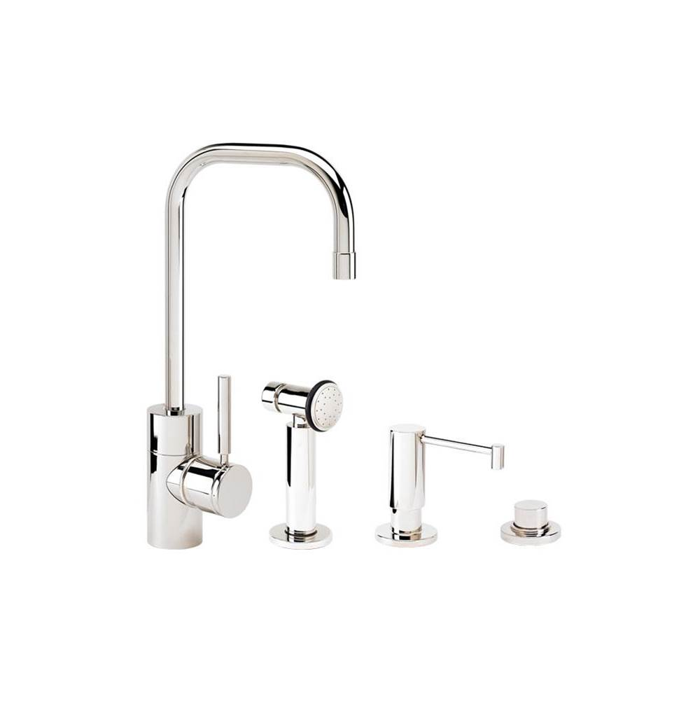 Waterstone Single Hole Kitchen Faucets item 3925-3-PN