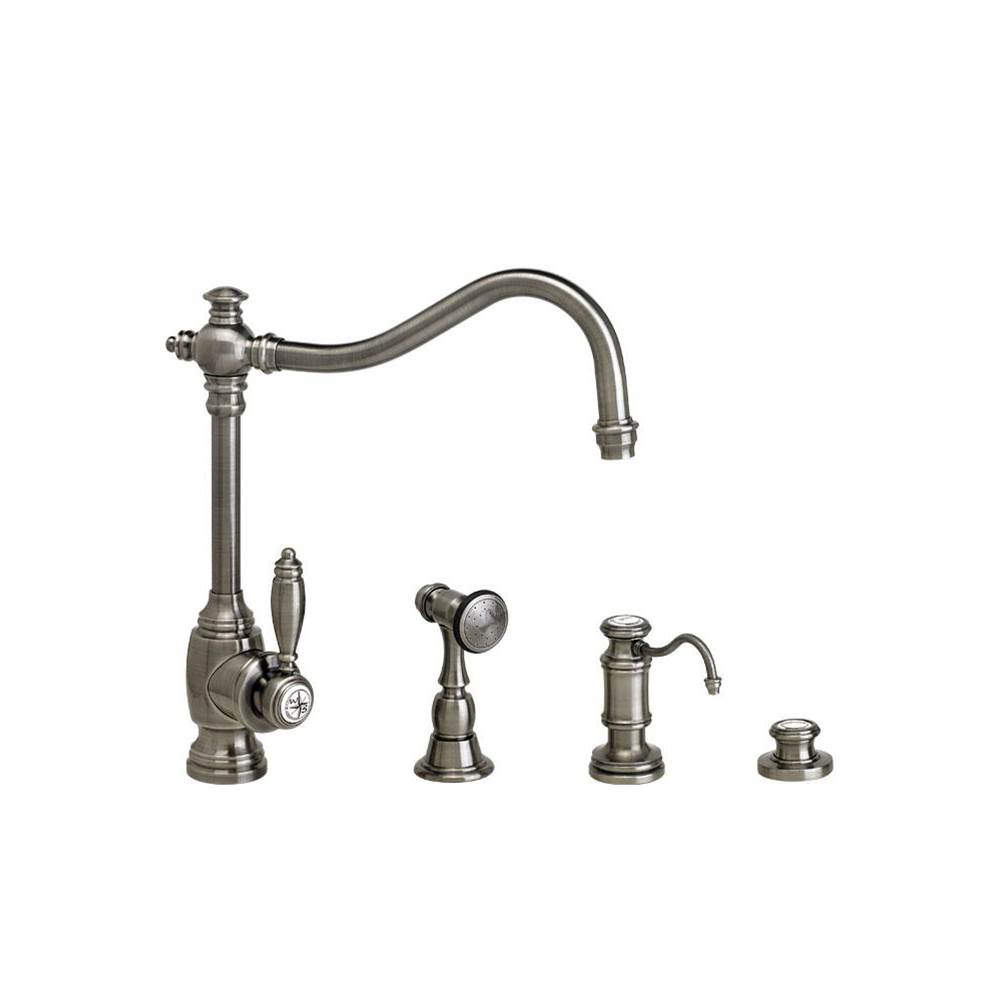 Waterstone Single Hole Kitchen Faucets item 4200-3-TB