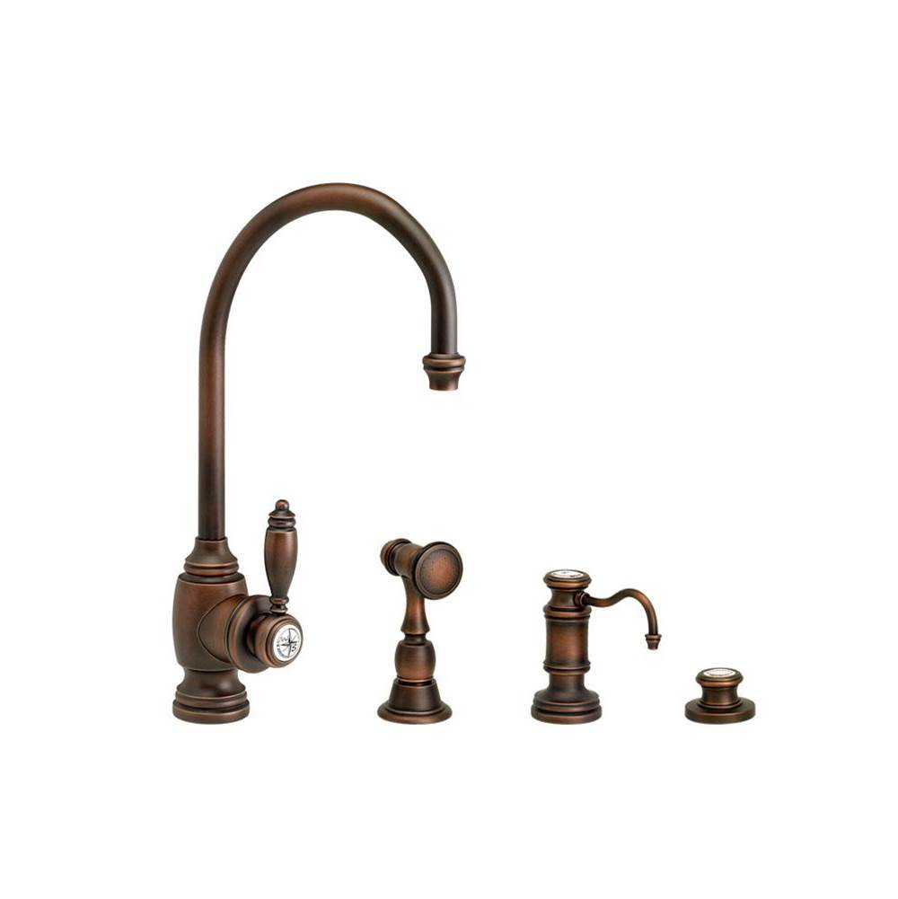 Waterstone Single Hole Kitchen Faucets item 4900-3-PN