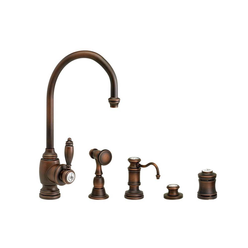 Waterstone Single Hole Kitchen Faucets item 4900-4-SG