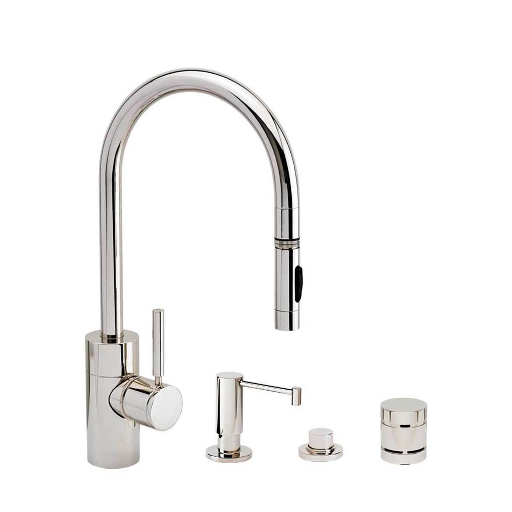 Waterstone Deck Mount Kitchen Faucets item 5400-4-TB
