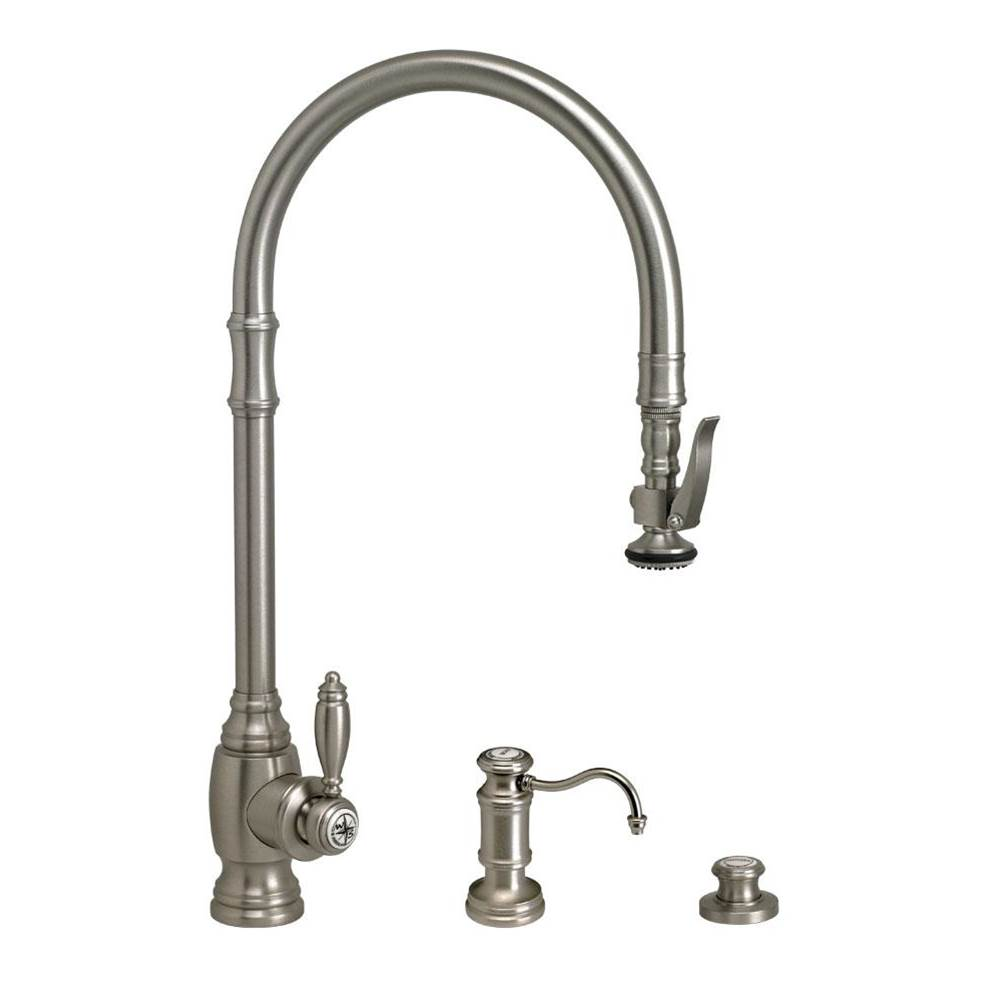 Waterstone Deck Mount Kitchen Faucets item 5500-3-CB