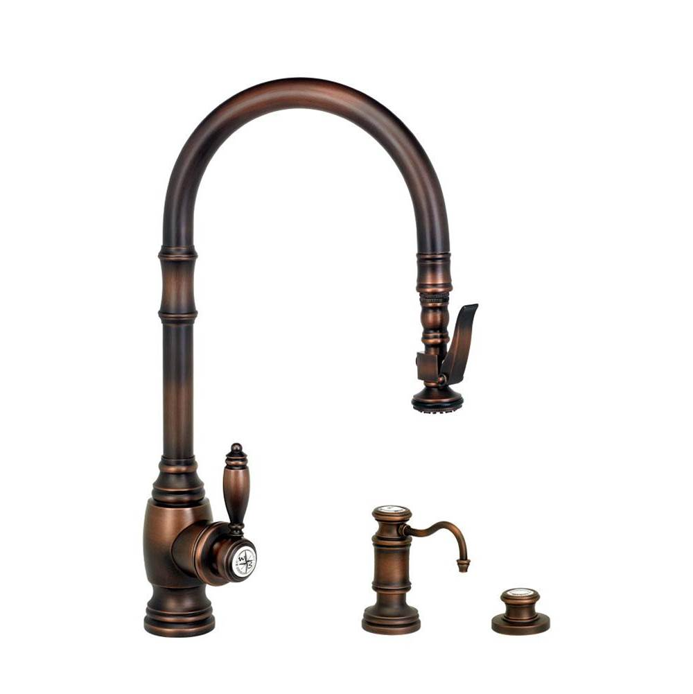 Waterstone Deck Mount Kitchen Faucets item 5600-3-SG