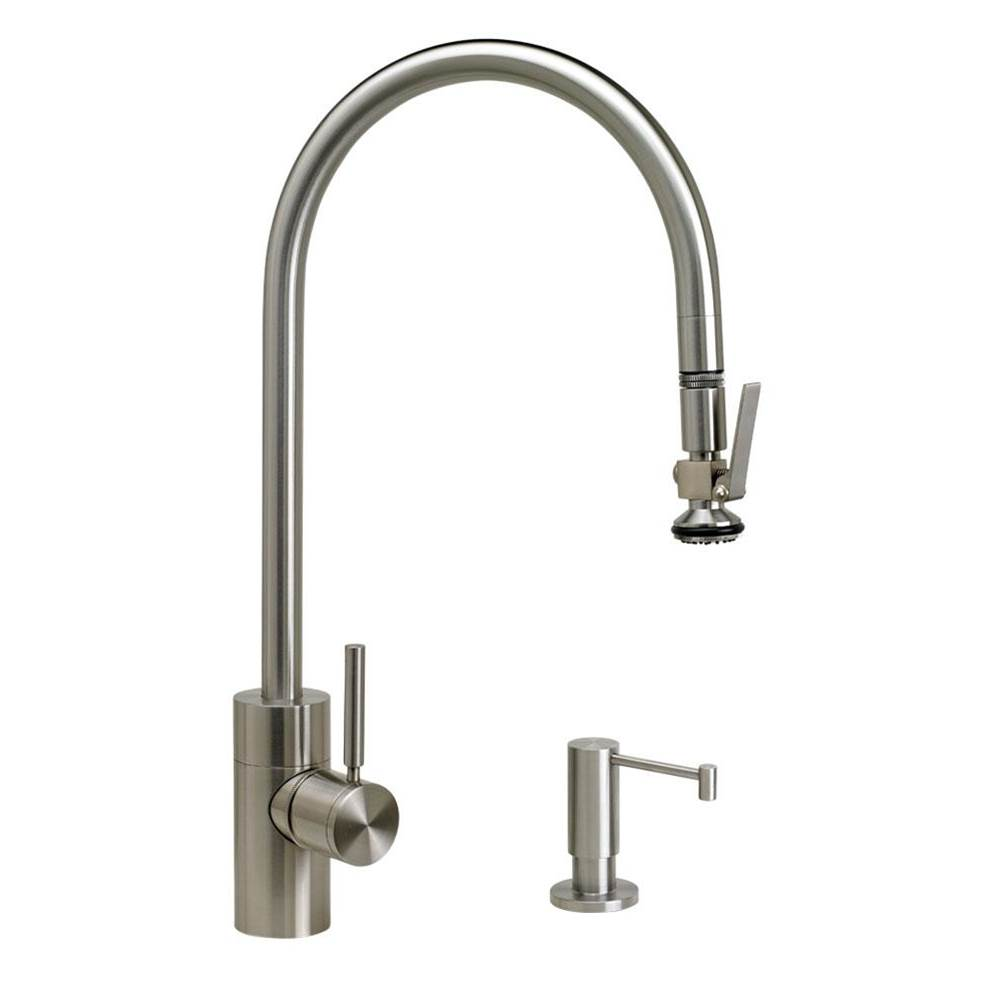 Waterstone Deck Mount Kitchen Faucets item 5700-2-AP