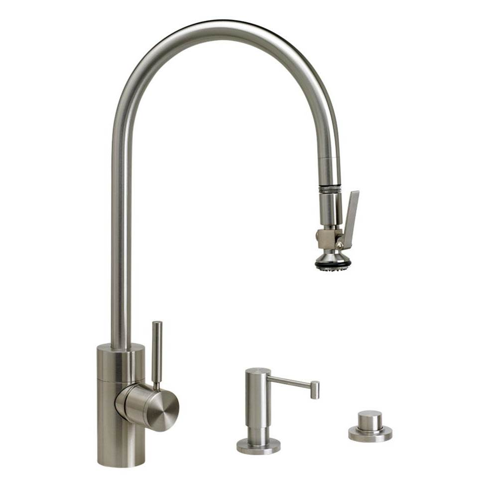 Waterstone Deck Mount Kitchen Faucets item 5700-3-SG