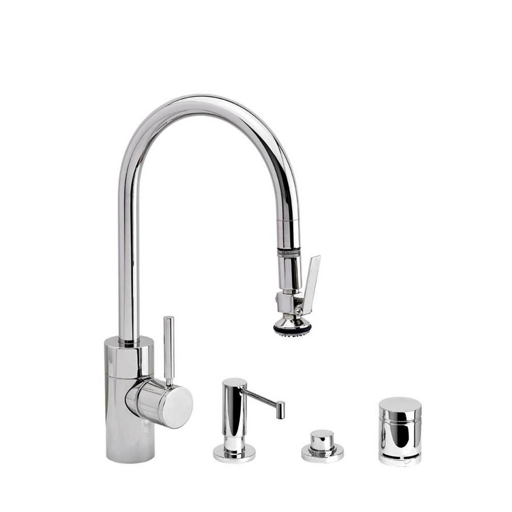 Waterstone Deck Mount Kitchen Faucets item 5800-4-SS