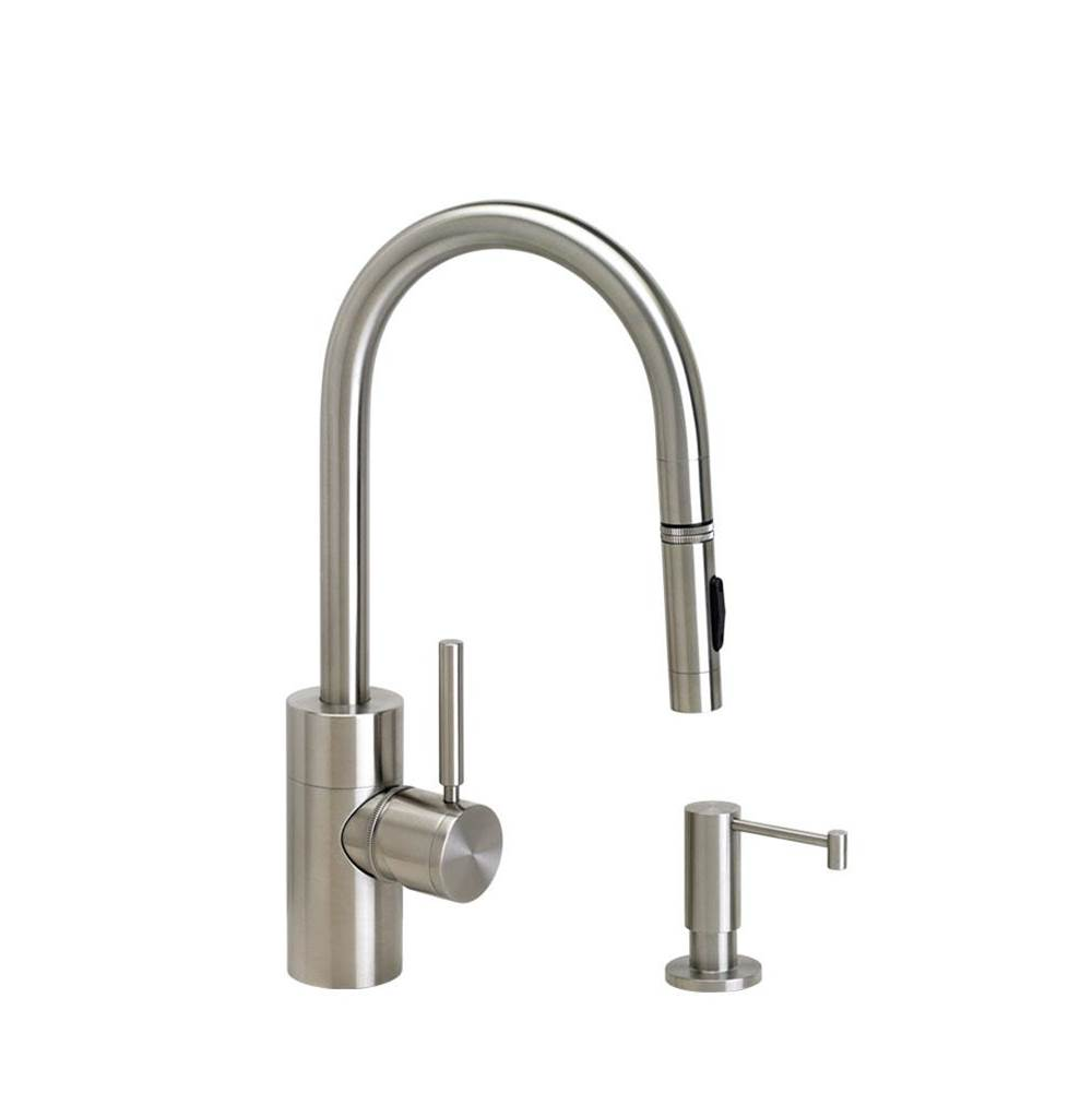 Waterstone Deck Mount Kitchen Faucets item 5900-2-SC