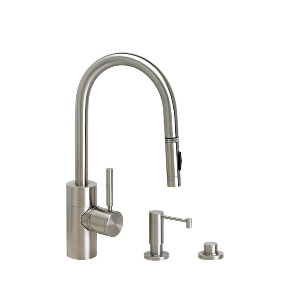 Waterstone Deck Mount Kitchen Faucets item 5900-3-PG