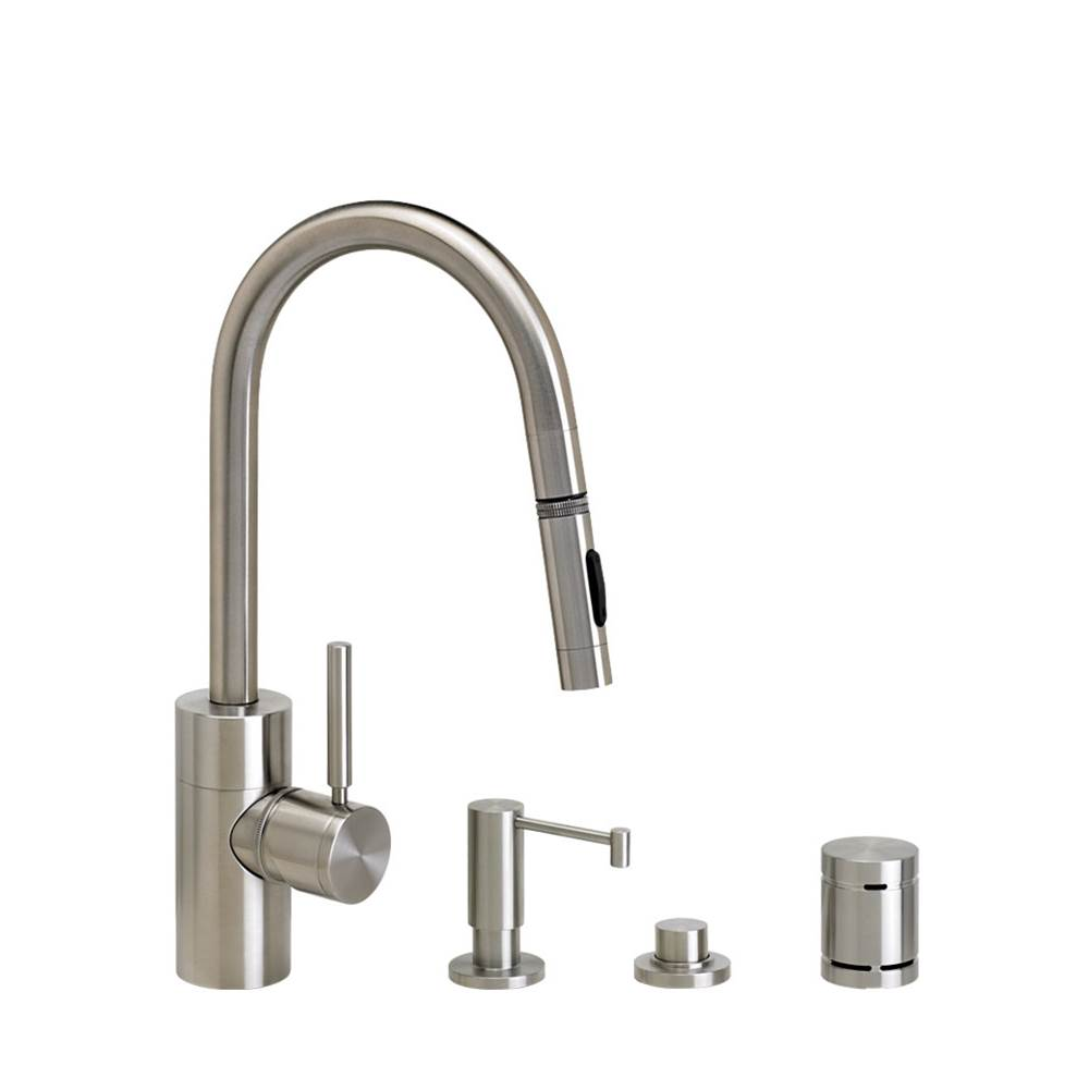 Waterstone Pull Down Faucet Kitchen Faucets item 5910-4-SS