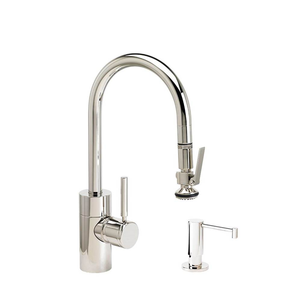 Waterstone Deck Mount Kitchen Faucets item 5930-2-CHB